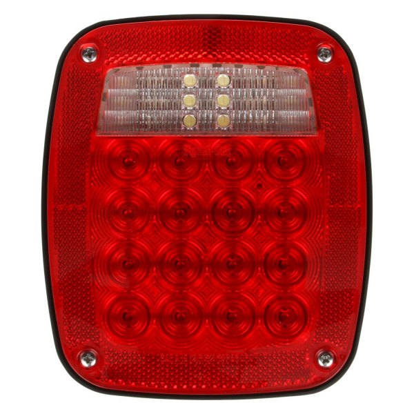 Led Truck Tail Lights >> Truck Lite Signal Stat 5 X6 Rectangular Stud Mount Led Tail Lights