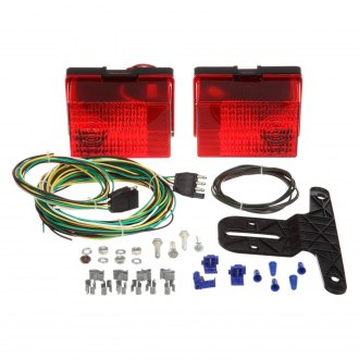 Truck-Lite® - Submersible Personal Trailer Kit with Driver Side Stop/Turn/Tail and Passenger Side Stop/Turn/Tail Kit