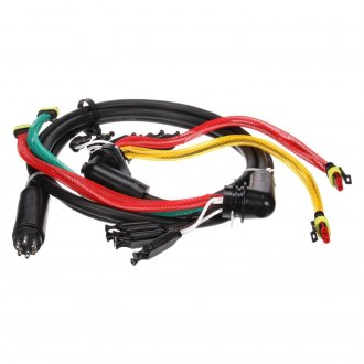 "Truck-Lite® - 88 Series 55"" Rear License and Turn Signal Wiring Harness with Stop/Turn/Tail and Marker/Clearance and Auxiliary and Tail Breakout"