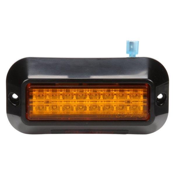 truck lite 92696y yellow rectangular 16 led strobe light kit. Black Bedroom Furniture Sets. Home Design Ideas