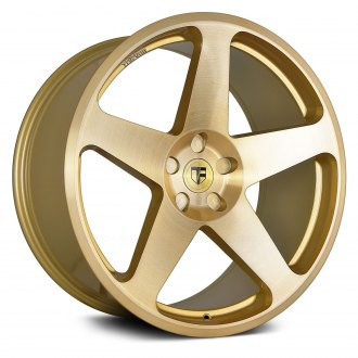 TRUFORM® - TF102 Gold with Brushed Face