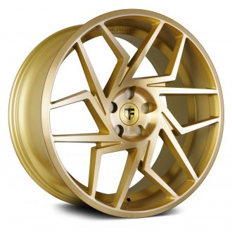 TRUFORM® - TF104 Gold with Brushed Face