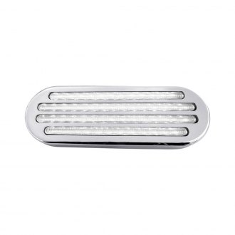 "TRUX® - Flatline 6.5x2.25"" Rectangular Fiber Optic LED Backup Light"