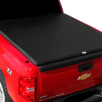 Image may not reflect your exact vehicle! TruXedo® - Edge Roll-Up Tonneau Cover, Closed