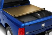 Image may not reflect your exact vehicle! TruXedo® - Lo Pro QT™ Roll-Up Tonneau Cover