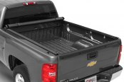 TruXedo® - Lo Pro QT Harley-Davidson Edition Roll-Up Tonneau Cover, Open