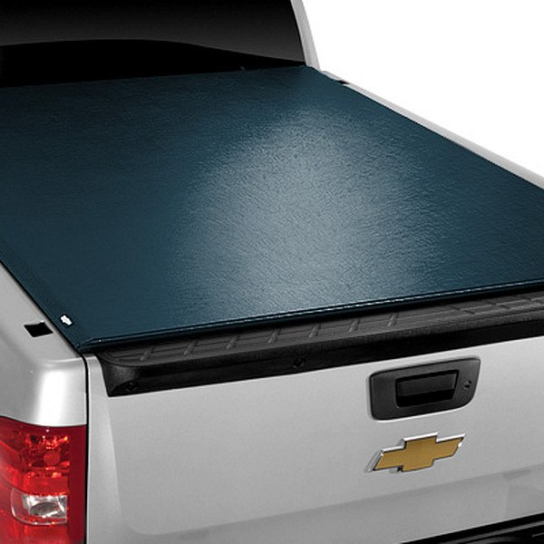 Image may not reflect your exact vehicle! TruXedo® - Lo Pro QT™ Roll-Up Tonneau Cover, Closed