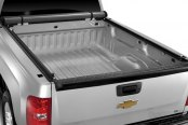 Image may not reflect your exact vehicle! TruXedo® - Lo Pro QT™ Roll-Up Tonneau Cover, Open