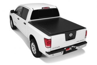 TruXedo® - TonneauTraX Roll-Up Tonneau Cover, Closed
