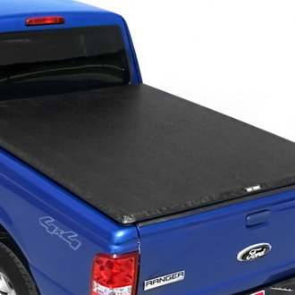 Image may not reflect your exact vehicle! TruXedo® - TruXport™ Roll-Up Tonneau Cover, Closed