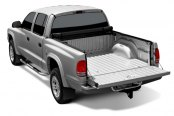 TruXedo® - Deuce Hinged Roll-Up Tonneau Cover, Open