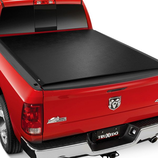 Image may not reflect your exact vehicle! TruXedo® - Deuce Hinged Roll Up Tonneau Cover