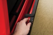 TruXedo® - Deuce Hinged Roll-Up Tonneau Cover, Latch