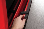 TruXedo® - Deuce Hinged Roll-Up Tonneau Cover, Front Latch