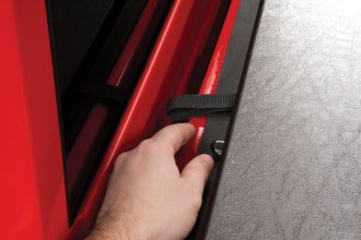 TruXedo� - Deuce Hinged Roll-Up Tonneau Cover, Front Latch
