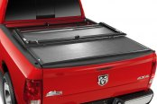 Image may not reflect your exact vehicle! TruXedo® - Deuce Hinged Roll-Up Tonneau Cover
