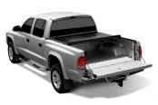 TruXedo® - Deuce Hinged Roll-Up Tonneau Cover, Mid Open