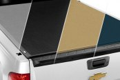 Image may not reflect your exact vehicle! TruXedo® - Lo Pro QT Roll-Up Tonneau Cover, Closed