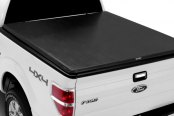 Image may not reflect your exact vehicle! TruXedo® - Roll-Up Tonneau Cover, Closed