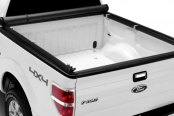 Image may not reflect your exact vehicle! TruXedo® - Roll-Up Tonneau Cover, Open