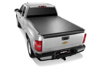 Image may not reflect your exact vehicle! TruXedo® - TonneauTraX Roll-Up Tonneau Cover, Closed