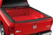 Image may not reflect your exact vehicle! TruXedo® - TruXport™ Roll-Up Tonneau Cover, Open