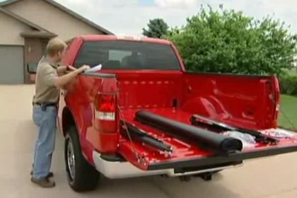 TruXedo® Deuce Hinged Roll-Up Tonneau Cover Installation Video