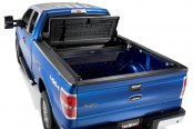 Image may not reflect your exact vehicle! TruXedo® - Open TonneauMate Toolbox and Tonneau Cover