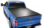 Image may not reflect your exact vehicle! TruXedo® - TonneauMate Toolbox Under Tonneau Cover