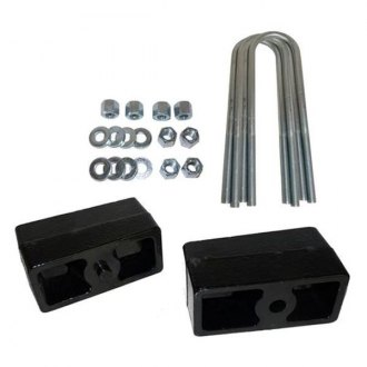 "Truxxx® - 1"" Rear Lifted Blocks and U-Bolts"