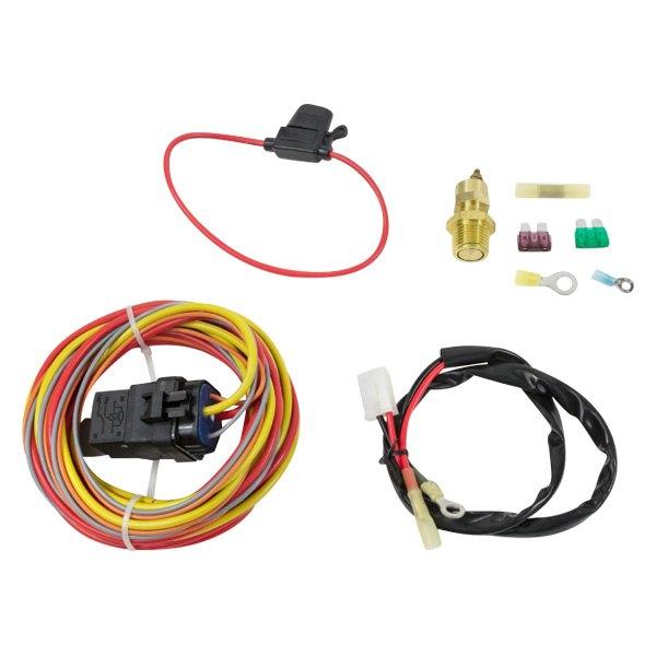 tsp hc7108 pro series 165 185 electric fan relay wiring kit rh carid com