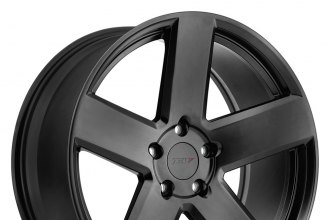"TSW® - BRISTOL MATTE BLACK (20"" x 8.5"", +20 Offset, 5x114.3 Bolt Pattern, 76.1mm Hub)"