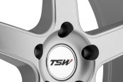 TSW® - CARTHAGE Silver with Mirror Cut Lip and Milled Spokes Close-Up