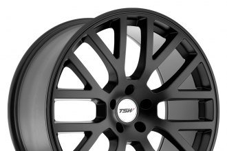 "TSW® - DONINGTON Matte Black (18"" x 8"", +42 Offset, 5x112 Bolt Pattern, 72mm Hub)"