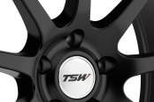 TSW® - INTERLAGOS Matte Black Close-Up