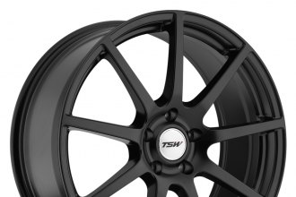 "TSW® - INTERLAGOS Matte Black (20"" x 10"", +40 Offset, 5x114.3 Bolt Pattern, 76mm Hub)"