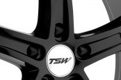 TSW® - JARAMA Gloss Black with Mirror Cut Lip Close-Up