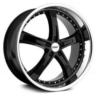 TSW® - JARAMA Gloss Black with Mirror Cut Lip