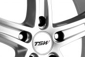 TSW® - JARAMA Hyper Silver with Mirror Cut Lip Close-Up