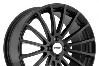 "TSW® - MALLORY Matte Black (18"" x 8"", +20 Offset, 5x114.3 Bolt Pattern, 100mm Hub)"