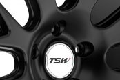 TSW® - MUGELLO Matte Black Close-Up
