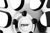 TSW® - NURBURGRING Gunmetal with Mirror Cut Face Close-Up