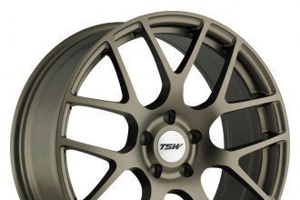 "TSW® - NURBURGRING Matte Bronze (18"" x 8"", +35 Offset, 5x100 Bolt Pattern, 100mm Hub)"