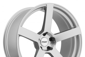 "TSW® - PANORAMA Silver with Mirror Cut Face (17"" x 8"", +32 Offset, 5x112 Bolt Pattern, 76mm Hub)"