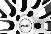 TSW® - PARABOLICA Matte Black with Machined Face Close-Up