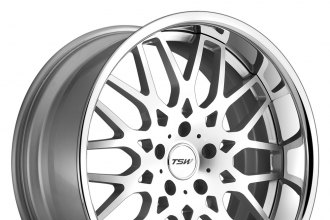 "TSW® - RASCASSE Silver with Machined Face (18"" x 8.5"", +15 Offset, 5x114.3 Bolt Pattern, 76mm Hub)"