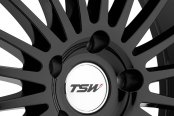 TSW® - SILVERSTONE Gloss Black with Mirror Cut Lip Close-Up