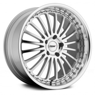 TSW® - SILVERSTONE Silver with Mirror Cut Face and Lip
