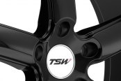 TSW® - STOWE Gloss Black with Mirror Cut Lip Close-Up
