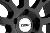 TSW® - TREMBLANT Gloss Black with Mirror Cut Lip Close-Up